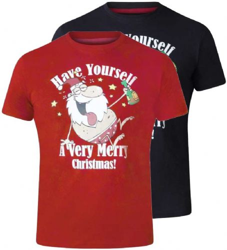 D555 MERRY CHRISTMAS T SHIRT